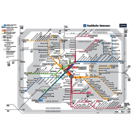 Maps of tram lines | Information and Downloads | Tourist Information ...