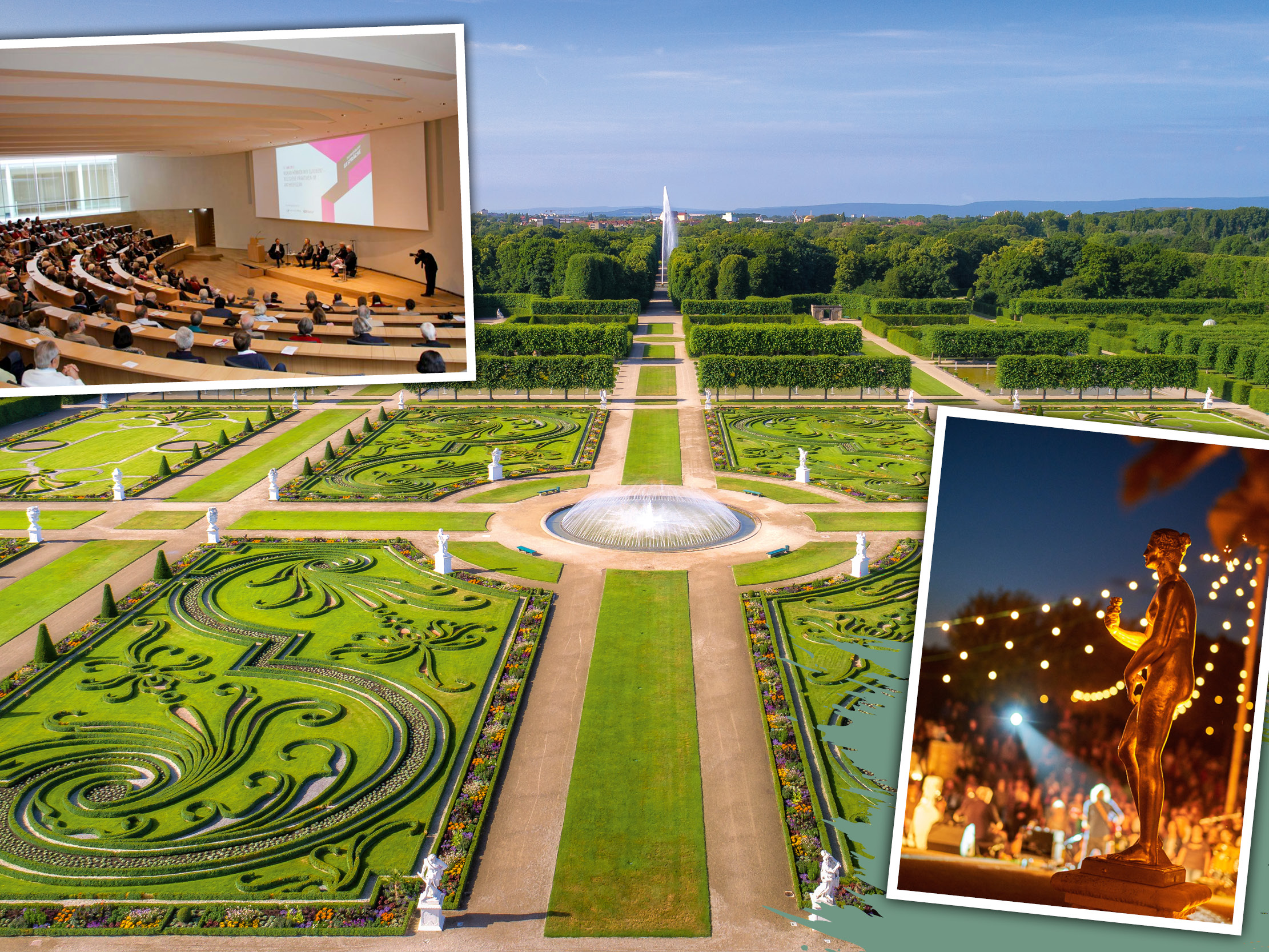 Aufregend unaufgeregt: Herrenhäuser Gärten