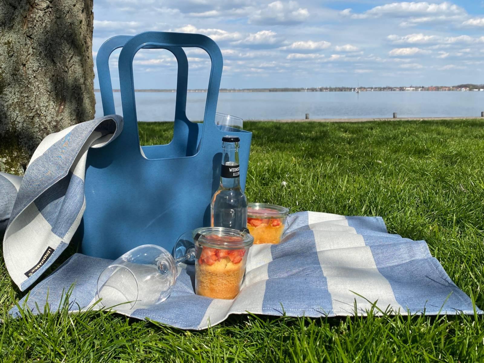 Picknick auf der Insel Wilhelmstein