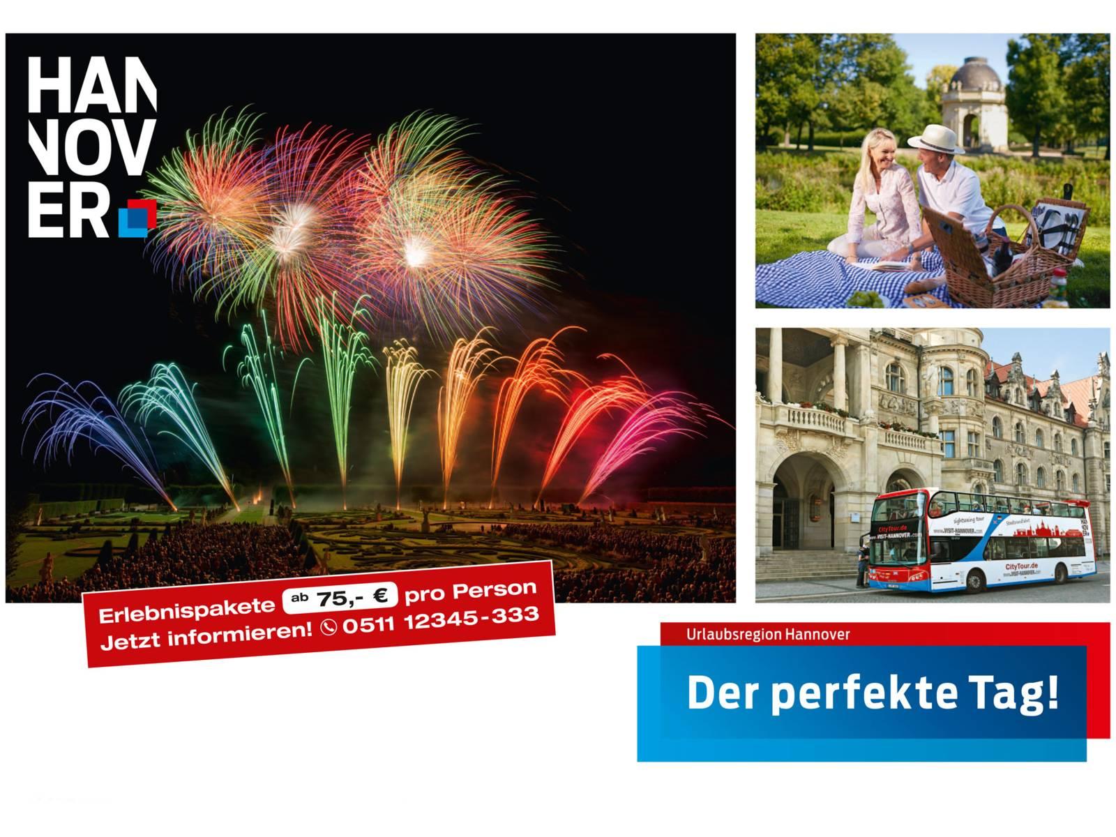 Erleben Sie den perfekten Tag in Hannover!