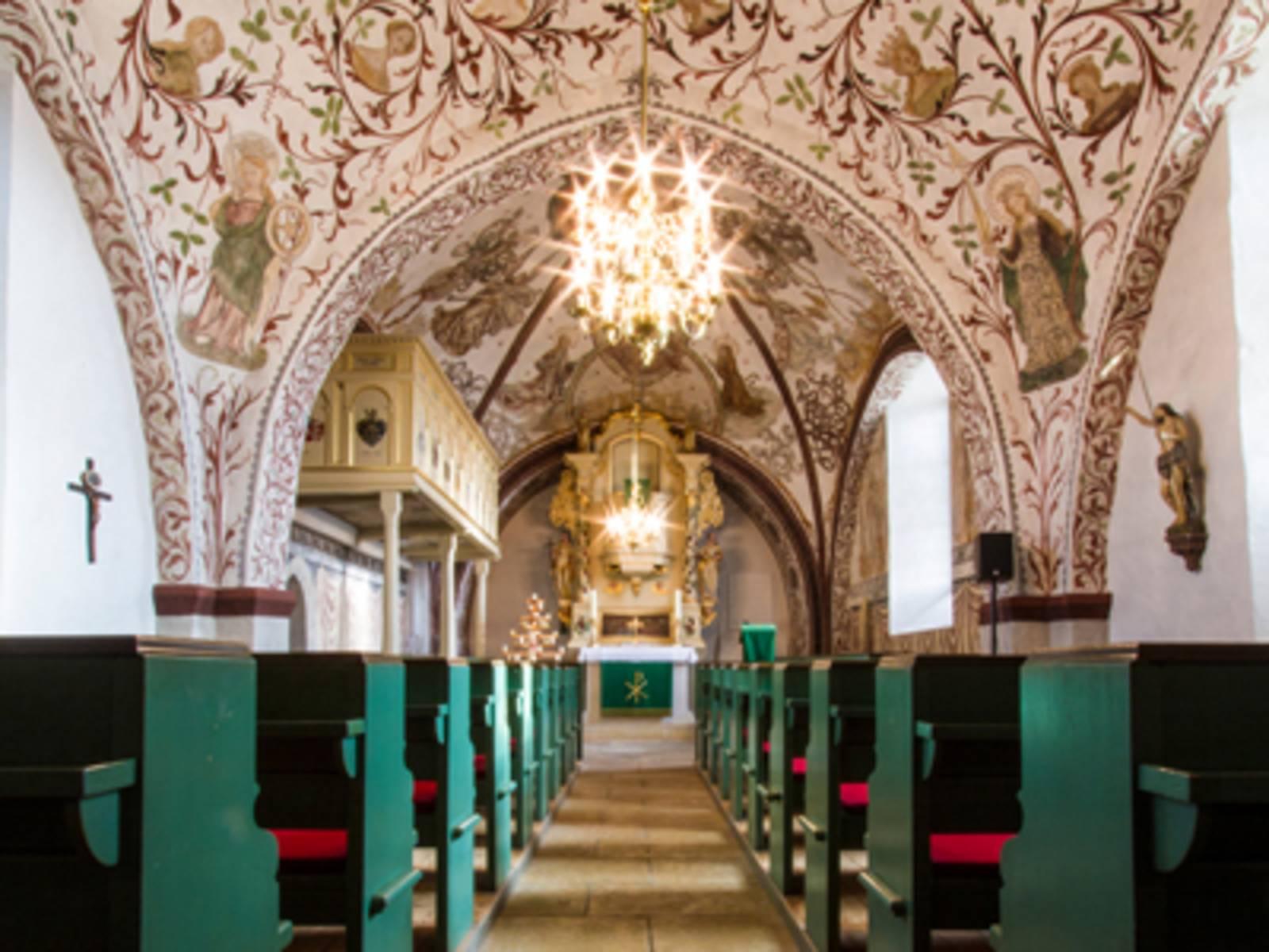 Sankt Agatha Kirche im Ortsteil Leveste der Stadt Gehrden