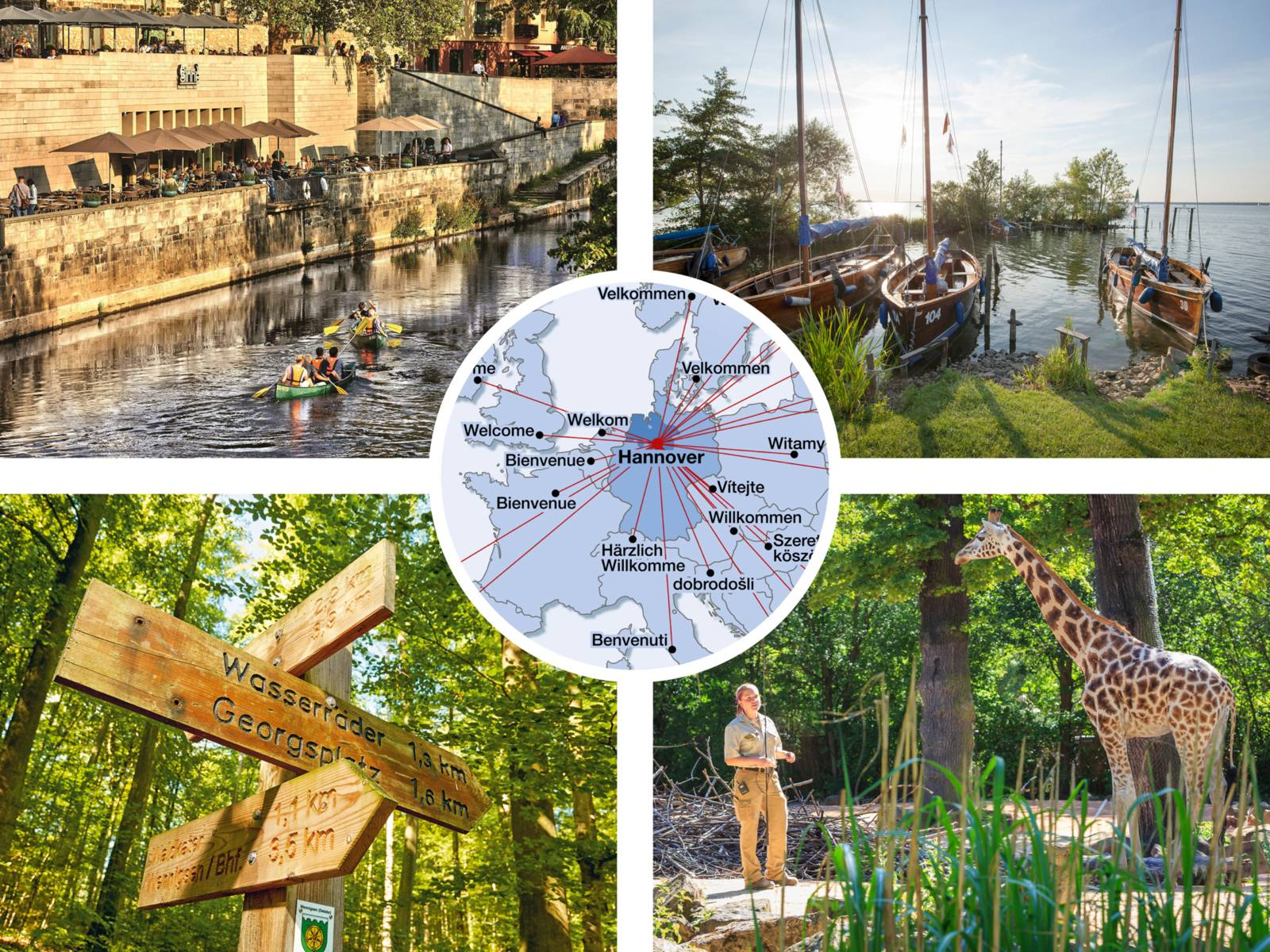 Collage Tourismus 2021