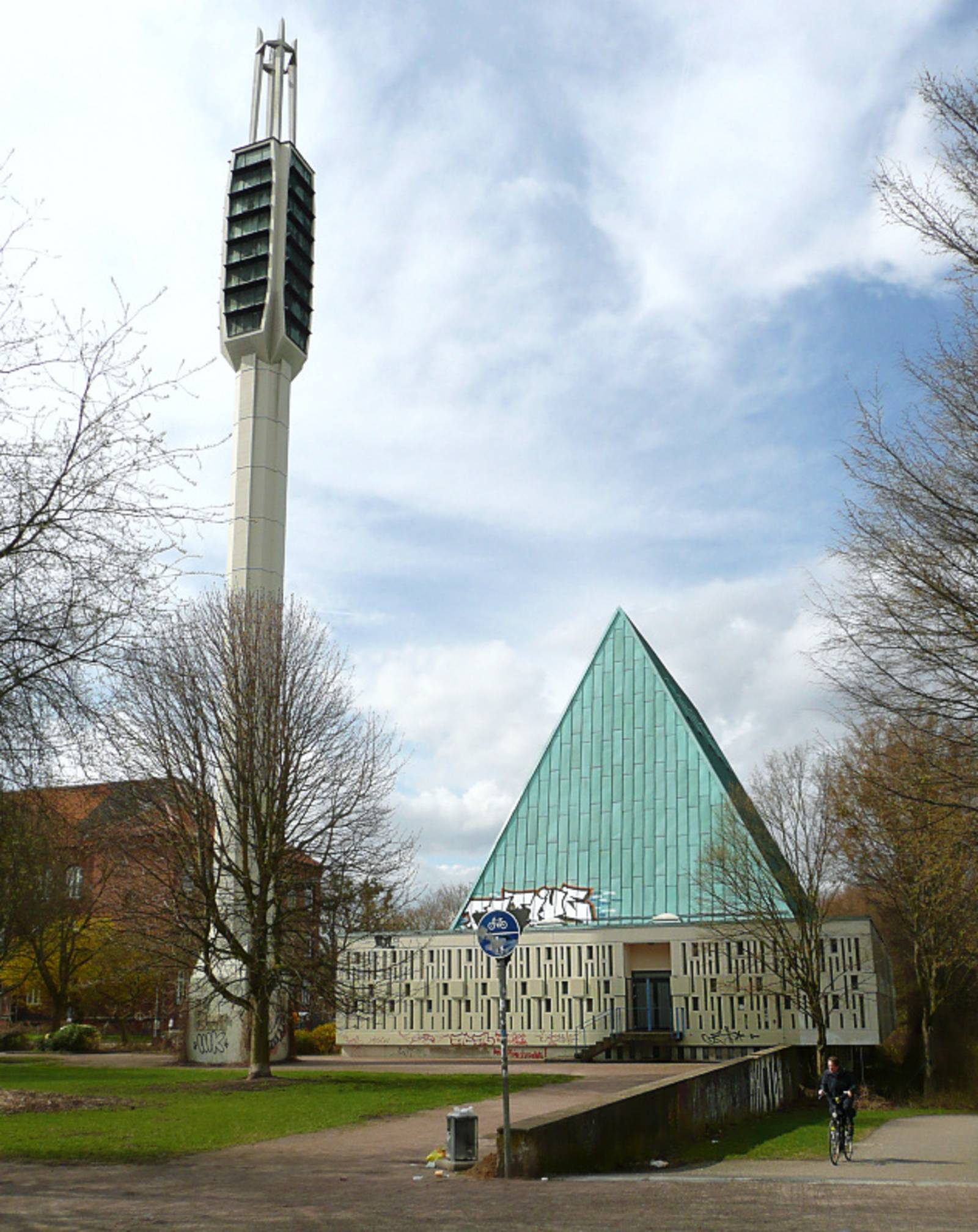 Studentenwohnheim in Kirche