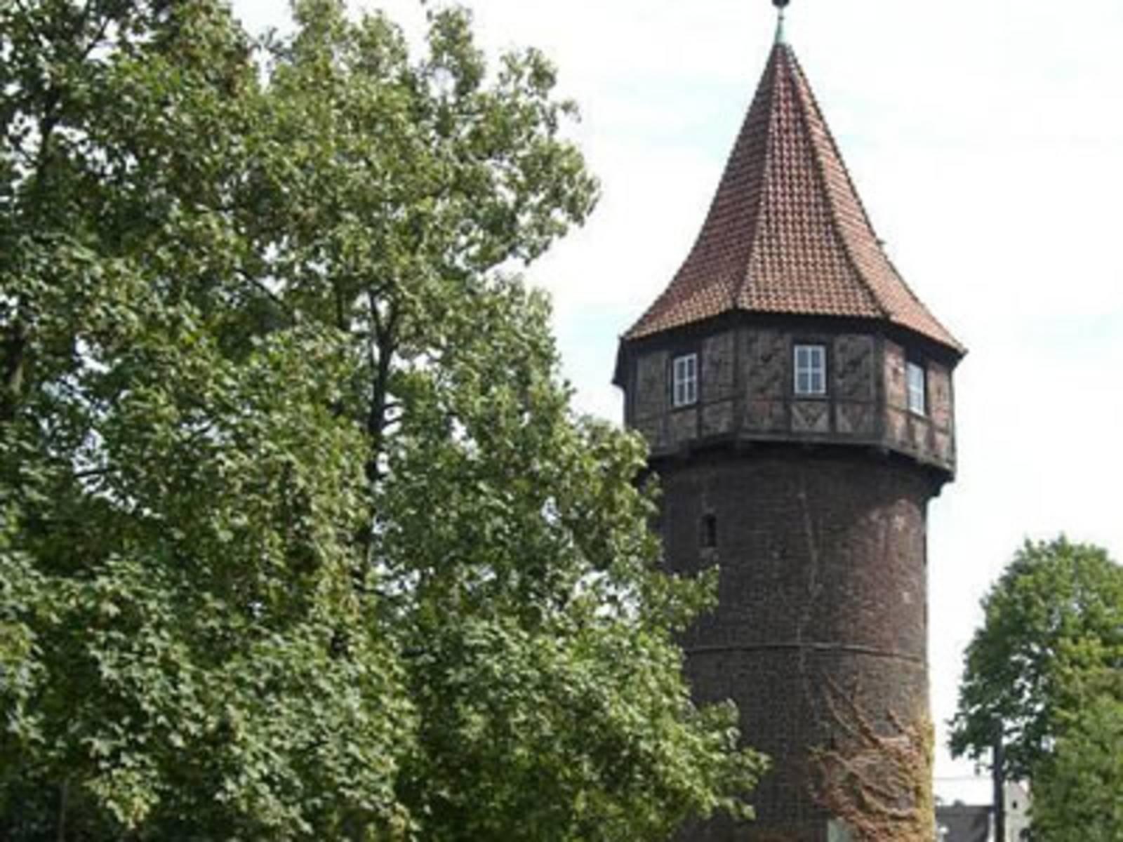 Foto vom Döhrener Turm in der Südstadt