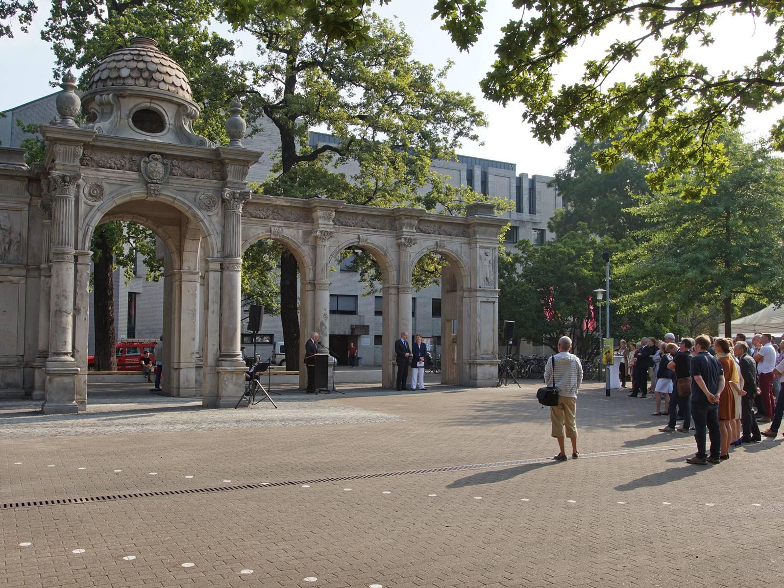 Arkaden am Emmichplatz