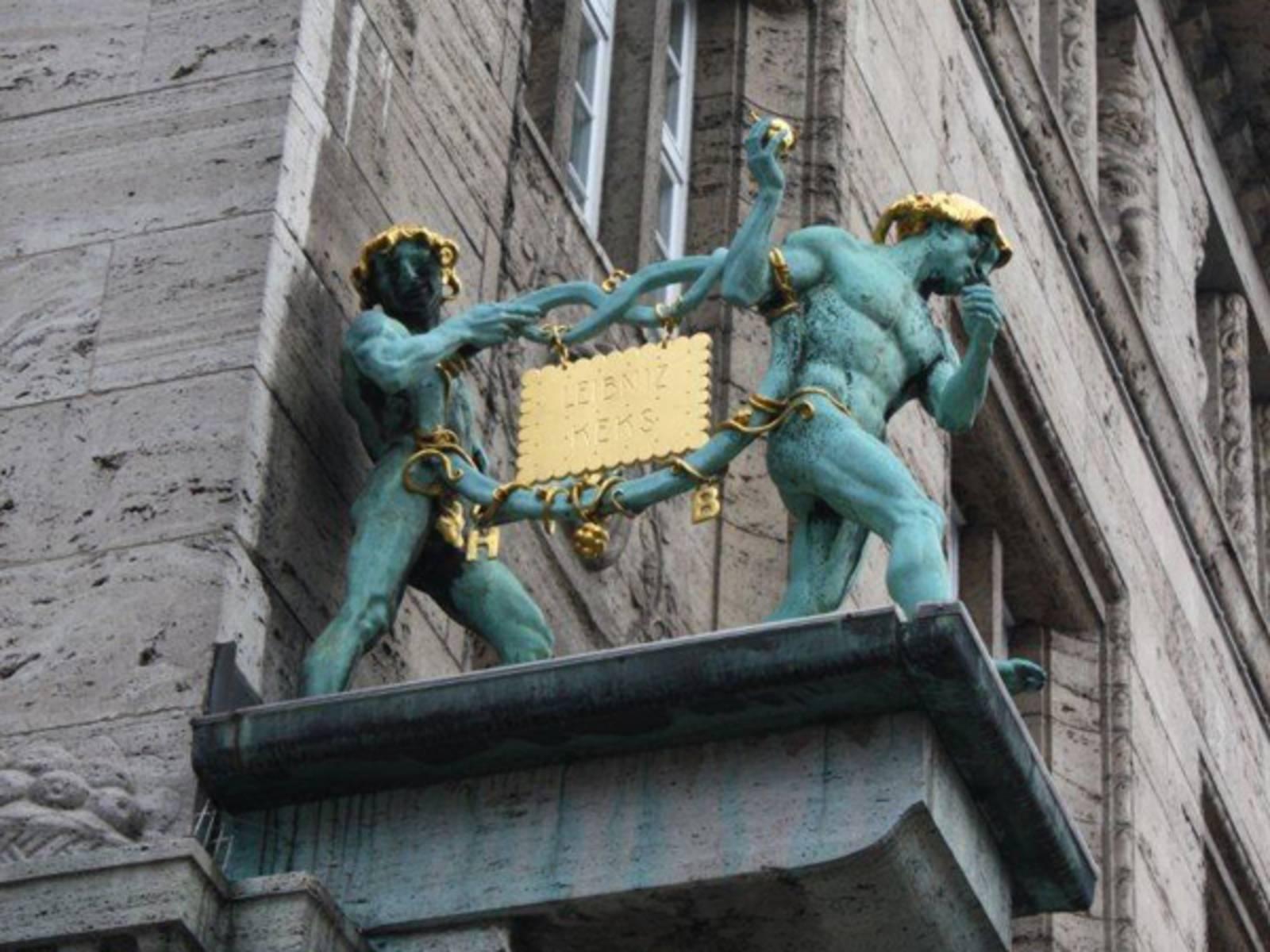 Der goldene Leibniz-Keks.