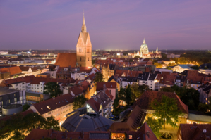 Luftansicht Hannover