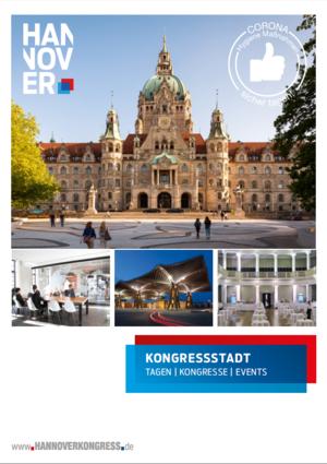 """Die Broschüre """"Kongressstadt - Tagen in der Mitte Europas""""."""