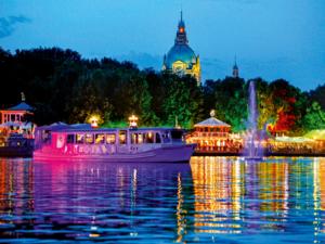 Festyn nad jeziorem Maschsee w Hanowerze