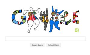 Niki de Saint Phalle / Google-Doodle
