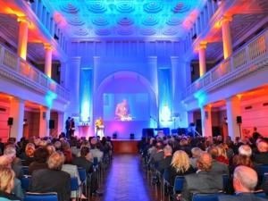 Der Leibnizsaal im Hannover Congress Centrum