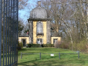 Der Küchengartenpavillon am Lindener Berg