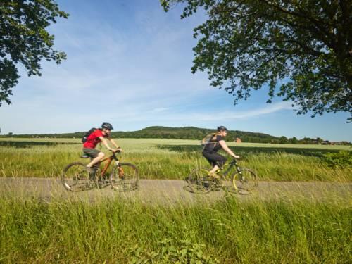 Radfahren am Benther Berg