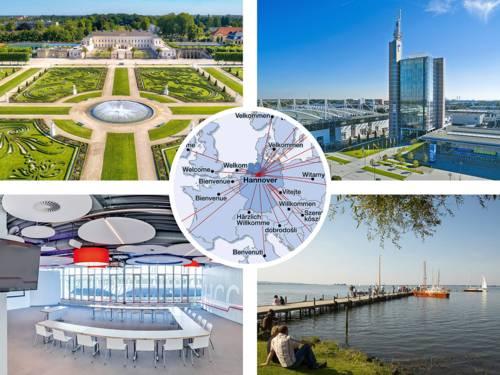 Collage: Übernachtungszahlen Region Hannover