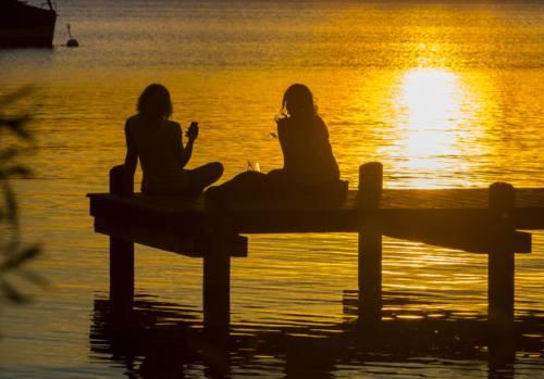 Beste Freundinnen Wochenende am Steinhuder Meer