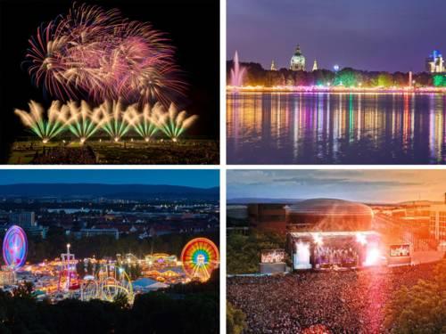 Feuerwerk / Maschseefest / Schützenfest / Konzert Expo Plaza