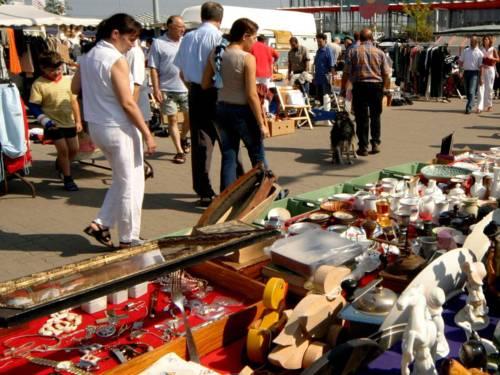 Flohmarkt in Ronnenberg