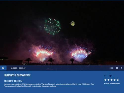 Feuerwerkswettbewerb - NDR Livestream