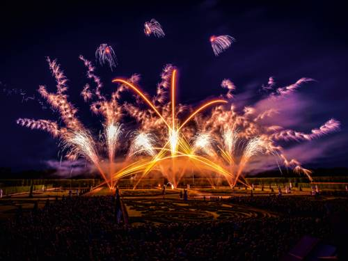 Buntes Feuerwerk