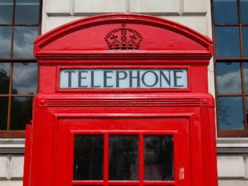 Telefonzelle England
