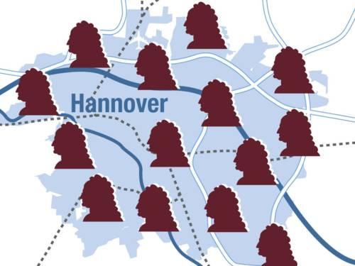 Leibniz' Ge(o)heimnisse - Karte