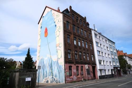 Graffiti in der Nieschlagstraße