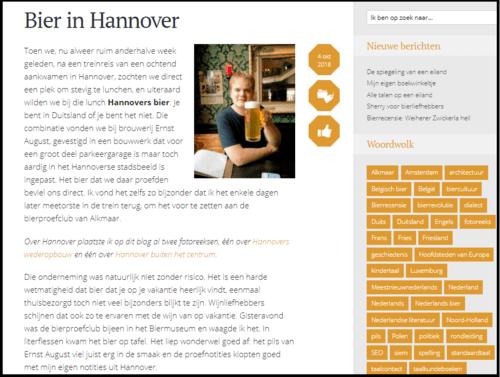 Marcel Plaatsman - Bier in Hannover