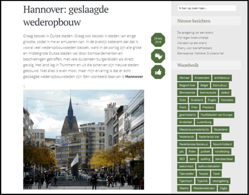 Marcel Plaatsman - Hannover: geslaagde wederopbouw