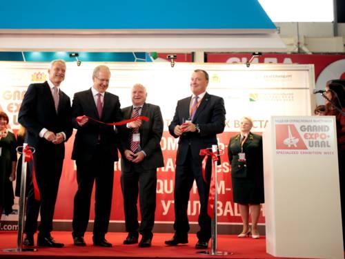 Eröffnung der Messe Grand Expo-Ural in Russland