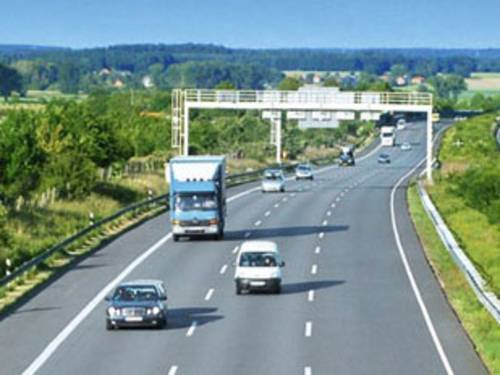 The main motorways in central Europe