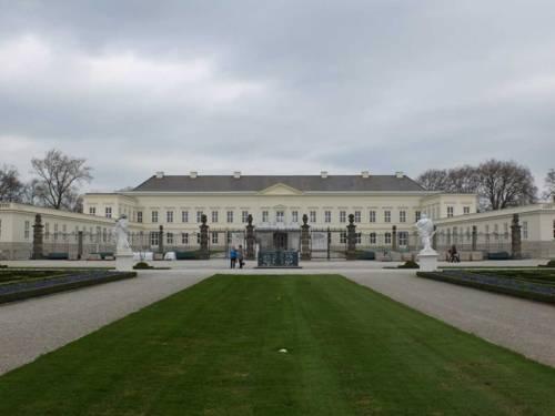 Schloss Herrenhausen, Gartenansicht