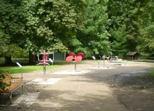 Fitnessparcours Tiergarten