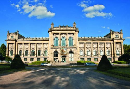 Das Niedersächsische Landesmuseum ist in einem historischen Gebäude untergebracht.