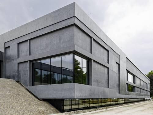 Gebäude aus Beton