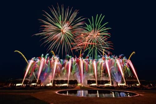 Titelmotiv Internationaler Feuerwerkswettbewerb 2017