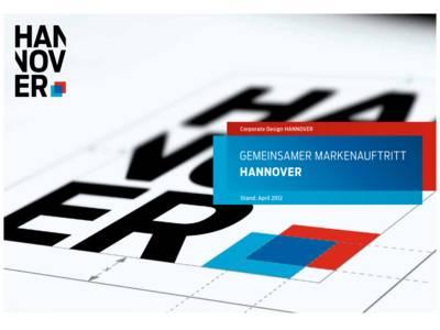 CD zum Marketing Leitbild Hannover