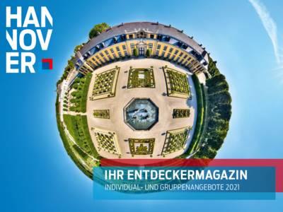 Cover Entdeckermagazin 2021
