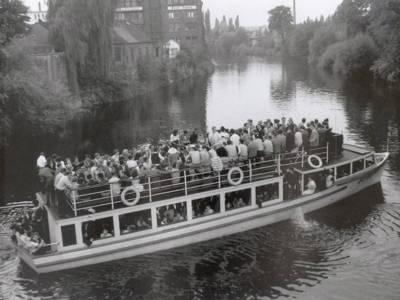 Jazz-Bootsfahrt auf der Ihme 08.08.1959