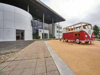 VW Nutzfahrzeug Auslieferungszentrum