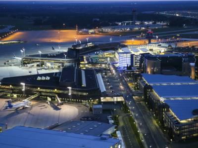 Flughafen Hannover Luftaufnahme
