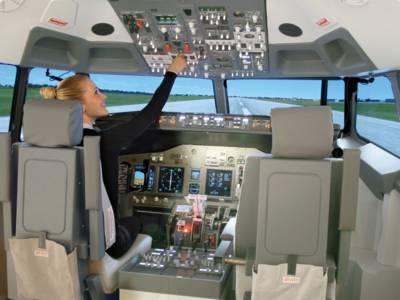 Boeing B737 Flugsimulator