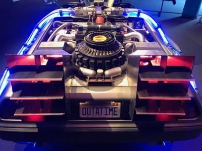 Maker Faire / DeLorean Zeitmaschine