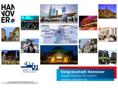 Tagungen und Kongresse in den 9 Städten
