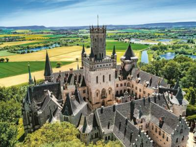 Luftbild Marienburg