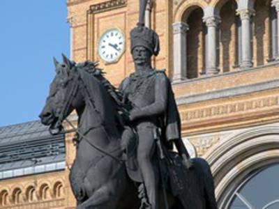 Ernst August Denkmal am Hauptbahnhof