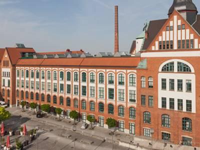 Das ehemalige Werksgelände der Firma Pelikan