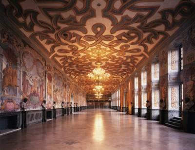 Innenansicht des Galeriegebäudes Herrenhausen