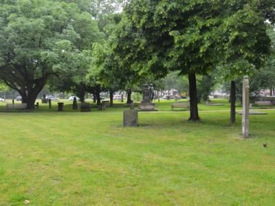 Der südliche Teil des St. Nikolai-Friedhofs