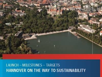 """Titelbild """"Hannover on the way to sustainability"""""""