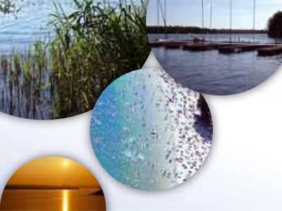 Vier Bilder vom Altwarmbüchener See
